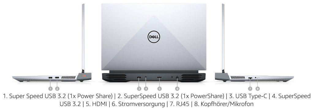 Dell G15 Ryzen 5P5CN mit AMD Ryzen 7, GeForce RTX 3060, 16GB & 512GB SSD für 999€ (statt 1.199€)