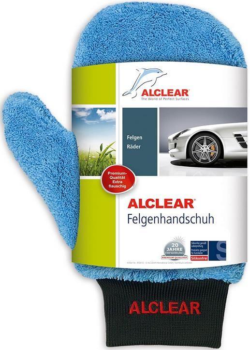 ALCLEAR 950013b Microfaser Alu Felgen Reiniger Handschuh für 6,59€ (statt 12€)