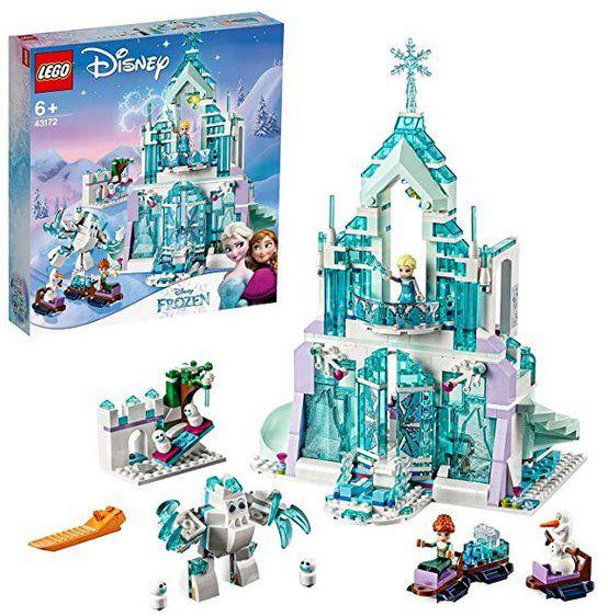 LEGO Disney Frozen – Elsas magischer Eispalast (43172) für 45,46€ (statt 58€)