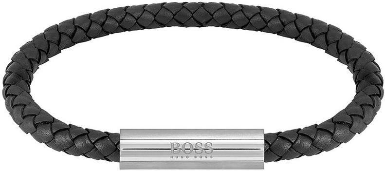 HUGO BOSS Herren Armband Braided Leather für 55,20€ (statt 69€)