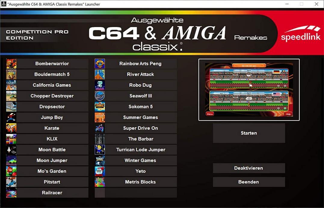 Speedlink Competition Pro USB Joystick mit 20 Spielen für 19,80€ (statt 28€)