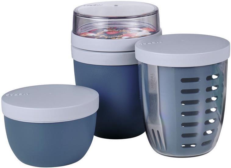Mepal Snackpot Set   Lebensmittelbehälter   3 teilig für 23,94€ (statt 30€)