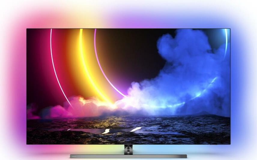 PHILIPS 65OLED876 OLED TV mit 65 Zoll, 4K UHD, Sprachsteuerung und Ambilight für 1.819,13€ (statt 2.397€)