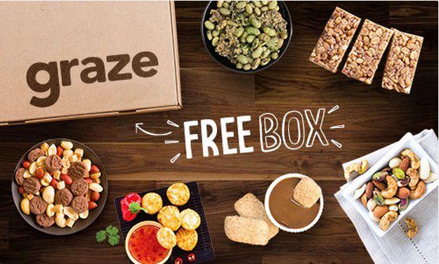 Snack Box von Graze für 1€ (statt 6€)