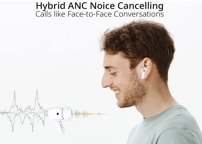 Blackview Airbuds 5 Pro Bluetooth In Ear Kopfhörer für 48,99€ (statt 70€)