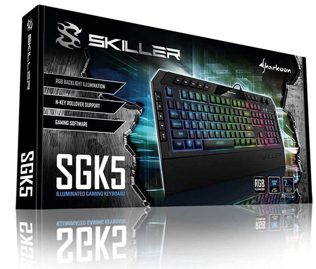 Sharkoon Skiller SGK5 RGB Gaming USB Tastatur für 29€ (statt 44€)