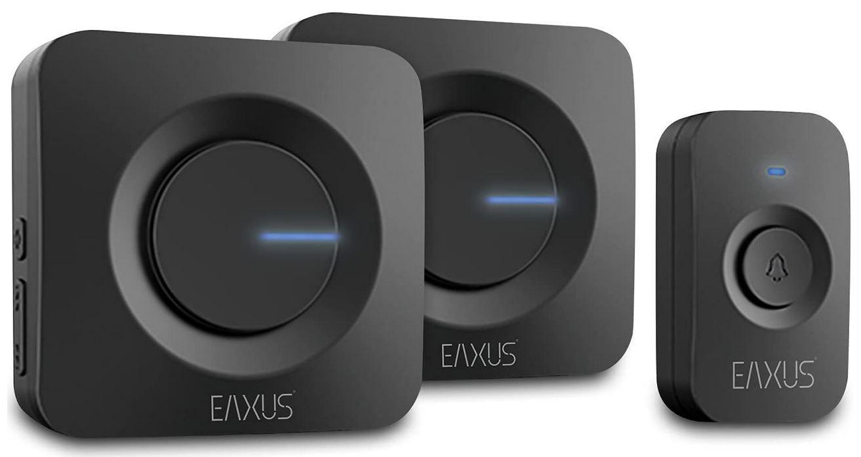 EAXUS LED Funkklingel Set mit 2 Empfängern für 19,99€ (statt 26€)