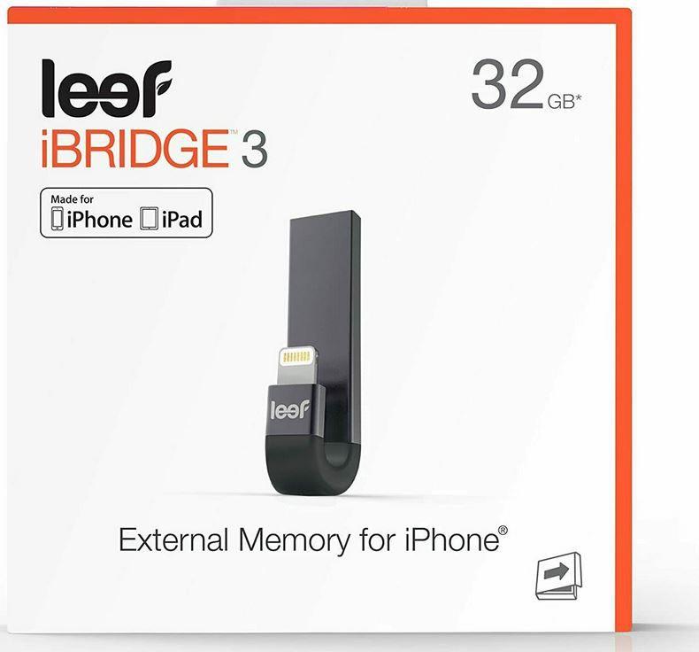 Leef iBridge 3   32GB externer iOS Speicher für 17,50€ (statt 25€)