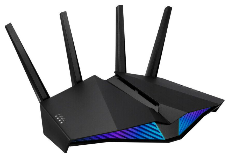 Asus RT AX82U WLAN Gaming Router (WiFi 6 802.11ax, Dual Band) für 120,20€ (statt 156€)