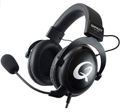 QPAD QH95   kabelgebundenes Over Ear Gaming Headset für 61,99€ (statt 81€)