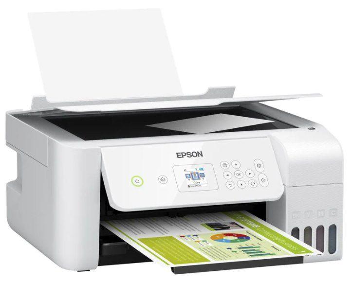 Epson EcoTank ET 2726 Tintenstrahl Multifunktionsdrucker für 184,49€ (statt 227€)