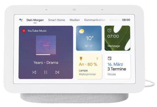 Google Nest Hub (2. Generation) + D Link DCS P6000LH WLAN Kamera für 91,99€ (statt 125€)