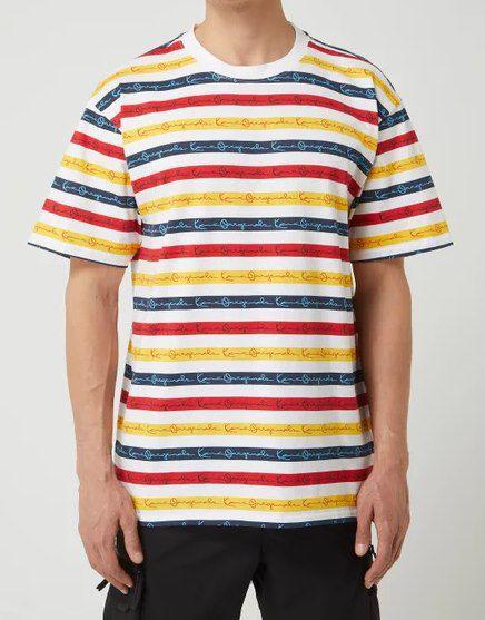 Karl Kani T Shirt mit Logo Muster für 9,99€ (statt 29€)
