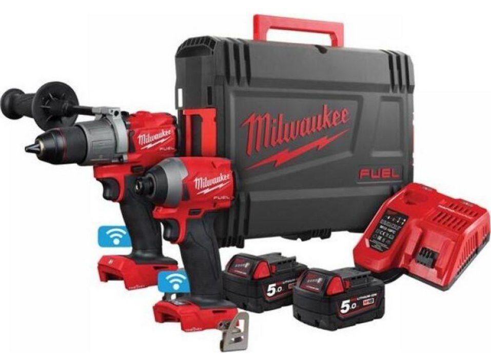 Milwaukee Schlagbohrschrauber und Schlagschrauber mit Zubehör für 478,90€ (statt 662€)