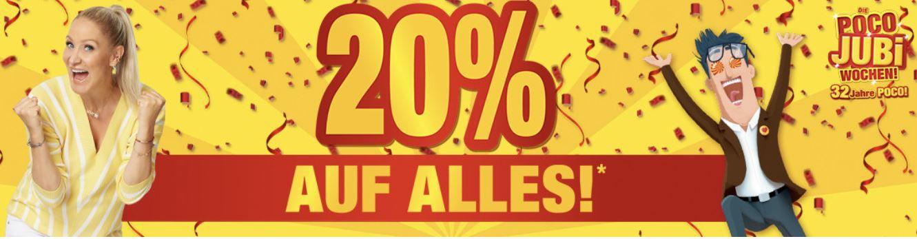 Poco 20% Rabatt auf Alles: z.B. GamingStuhl Game Rocker XXL für 190,49€ (statt 249€)