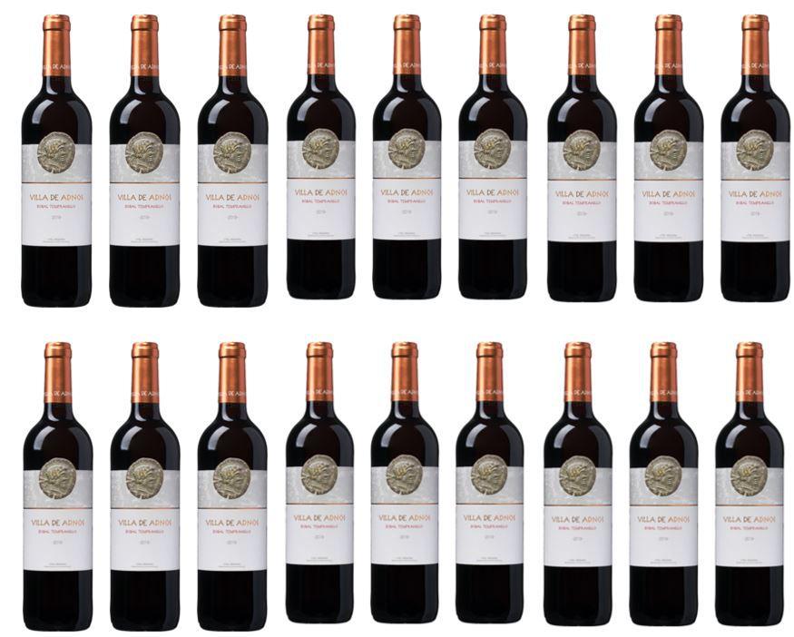 Weinvorteil mit 20€ sofort Rabatt auf ausgewählte Weine: z.B. 18 Flaschen Bodegas Coviñas Rotwein für 69,82€ (statt 90€)