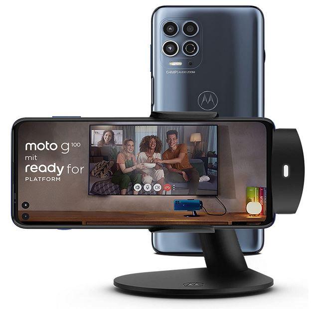 Motorola Moto G100   6,7Zoll Android Smartphone 8GB/128GB 5G für 389€ (statt 430€)