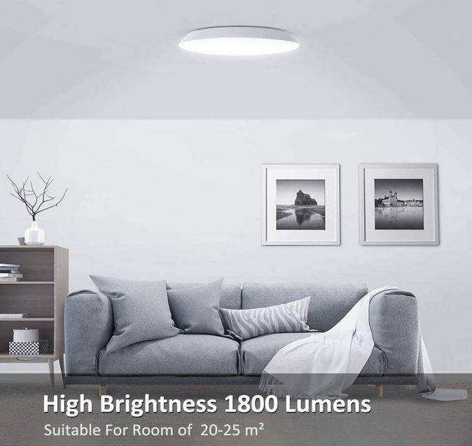 Novostella NTCL05   18W LED Deckenleuchte für 14,99€ (statt 30€)