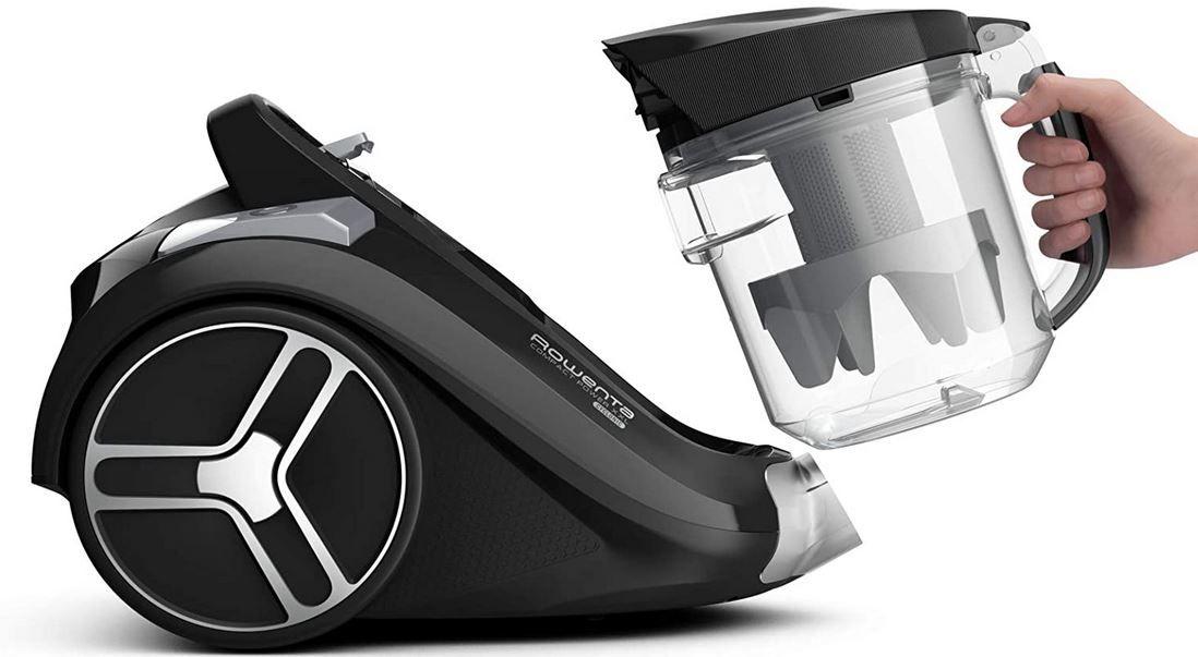 Rowenta RO4825 Compact Power XXL beutelloser Bodenstaubsauger für 65,99€ (statt 82€)