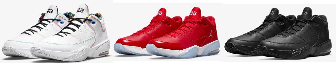 Nike Jordan Max Aura 3 Sneaker in Weiß/Schwarz/Rot für 77,97€ (statt 120€)
