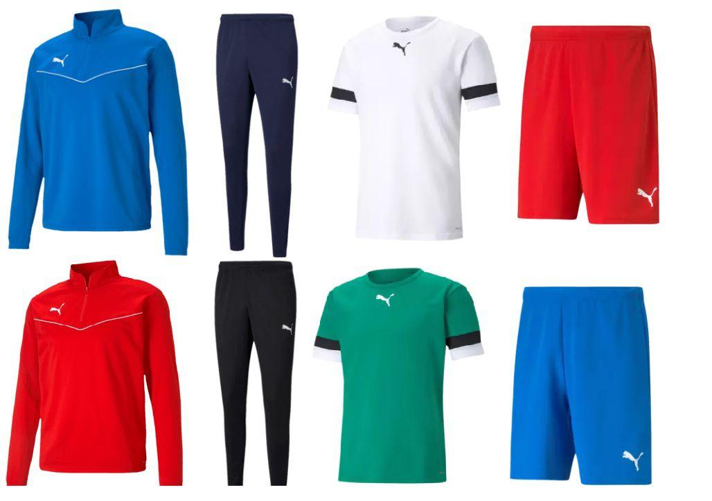 Puma Trainingsset Rise 4 teilig in verschiedenen Farben für 49,95€ (statt 67€)