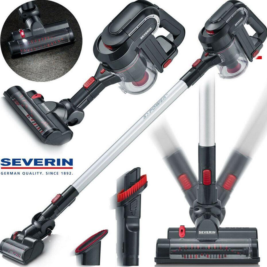Severin HV7157  2in1 Akku Boden Staubsauger mit HEPA Filter für 75€ (statt 94€)