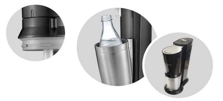 SodaStream Crystal 2.0 + 2 Glaskaraffen & Zylinder für 67,88€ (statt 87€)