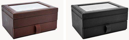 Fossil Uhrenbox   Ten Piece Watch Box für 67,23€ (statt 137€)