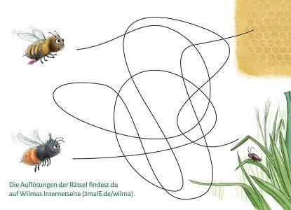 Pixi Heft Materialien für den Kindergarten: Wilmas wilde Welt   Lernheft Wildbienen gratis