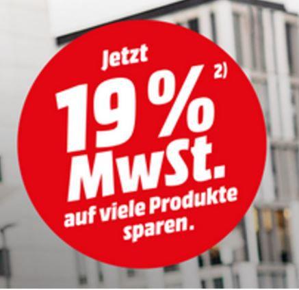 Media Markt: ausgewählte Artikel ohne MwSt. =15,9% Rabatt