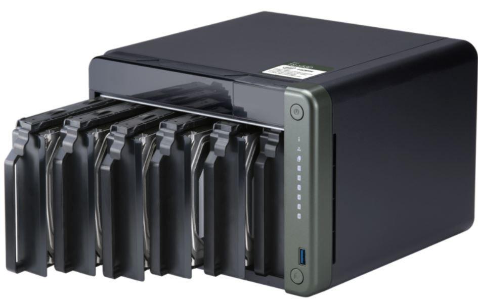 QNAP TS-653D-4G NAS System 6-Bay Leergehäuse für 549€ (statt 634€)