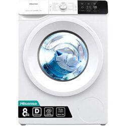 Hisense WFGE80141VM 8kg Waschmaschine mit Dampf für 295,32€ (statt 331€)