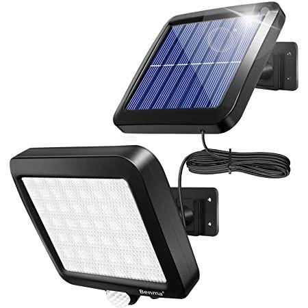 Benma Solar-Außenlampe mit 56 LEDs inkl. Bewegungsmelder für 11,49€ (statt 22€) – Prime