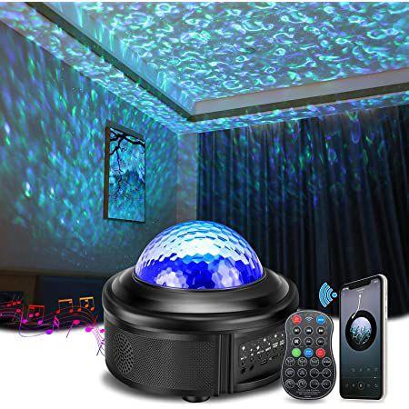 Solmore Sternenhimmel Projektor mit BT Lautsprecher inkl. Fernbedienung für 18,94€ (statt 38€)
