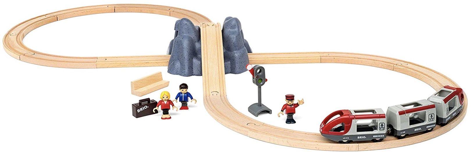 BRIO World 33773 Eisenbahn Starter Set A für 24,99€ (statt 34€)