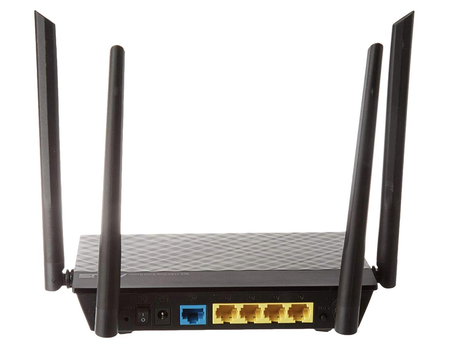 Asus RT AC1200 V2 Router mit 4x Fast Ethernet LAN und App Steuerung für 24,99€ (statt 40€)   Prime