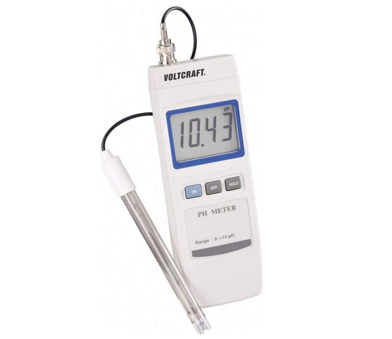 Voltcraft PH 100 ATC pH Messgerät für 33€ (statt 89€)   Tiefstpreis