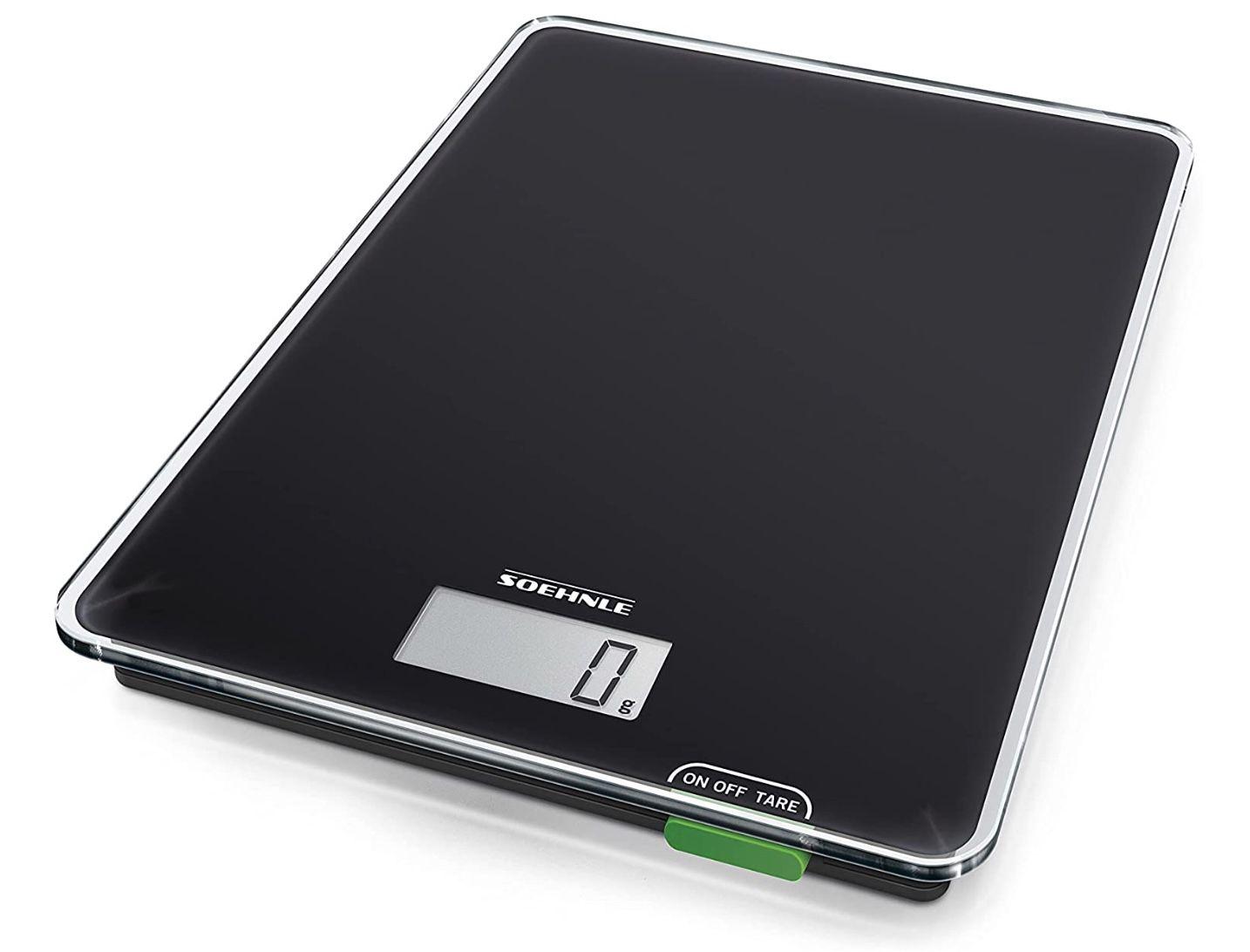 Soehnle Page Compact 100 digitale & bis zu 5 kg belastbare Küchenwaage für 9,99€ (statt 14€)   Prime