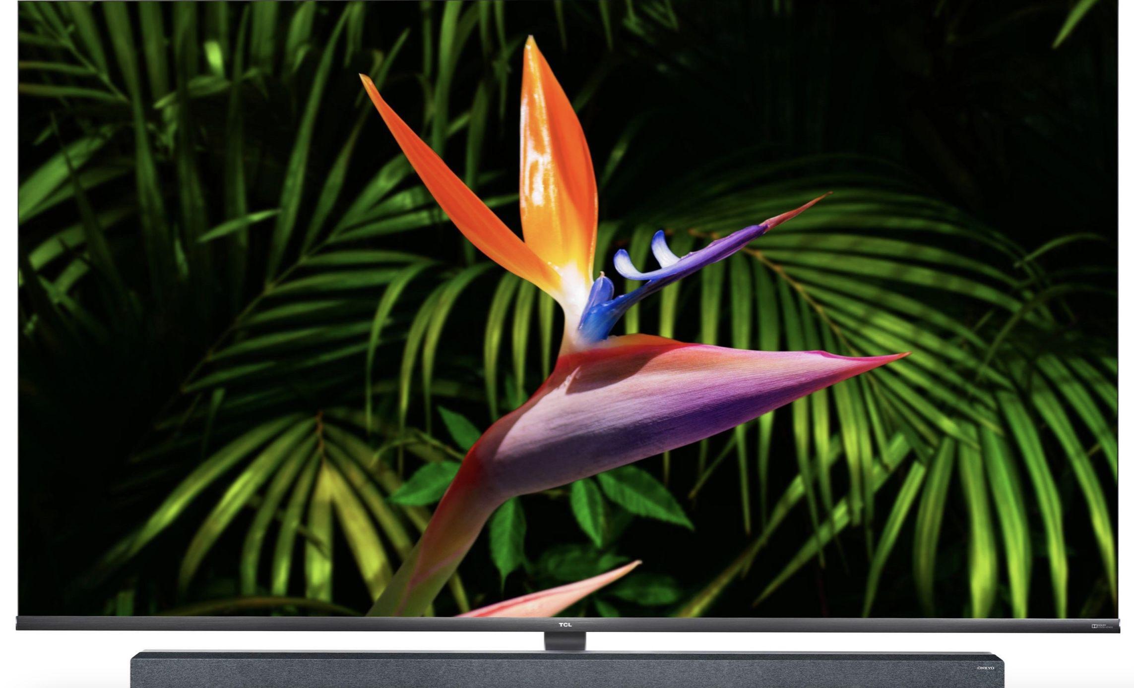 TCL 65X10X1   65 Zoll UHD Fernseher, mit Smart TV, Android 9.0 Betriebssystem & AndroidTV Sprachfernbedienung für 997€ (statt 1.297€)