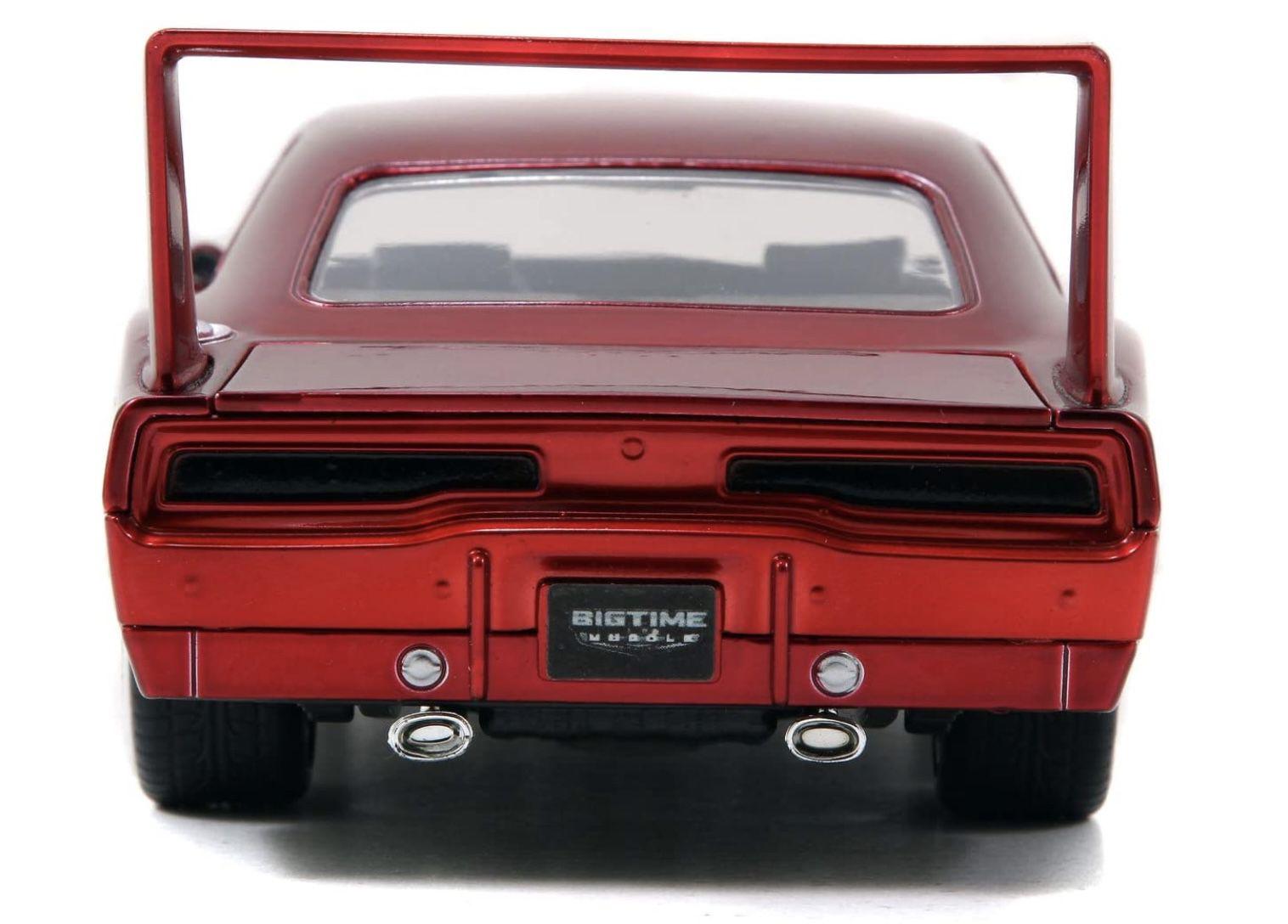 Jada Toys Fast & Furious Doms 1969 Dodge Charger Daytona im Maßstab 1:24 für 21,06€ (statt 30€)   Prime