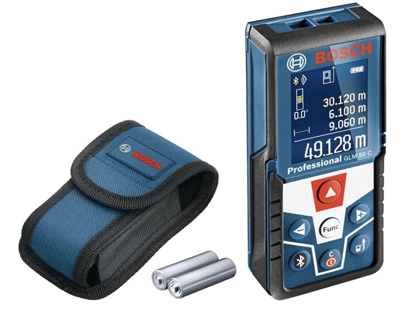 Bosch Professional Laser Entfernungsmesser GLM 50 C für 89,69€ (statt 105€)
