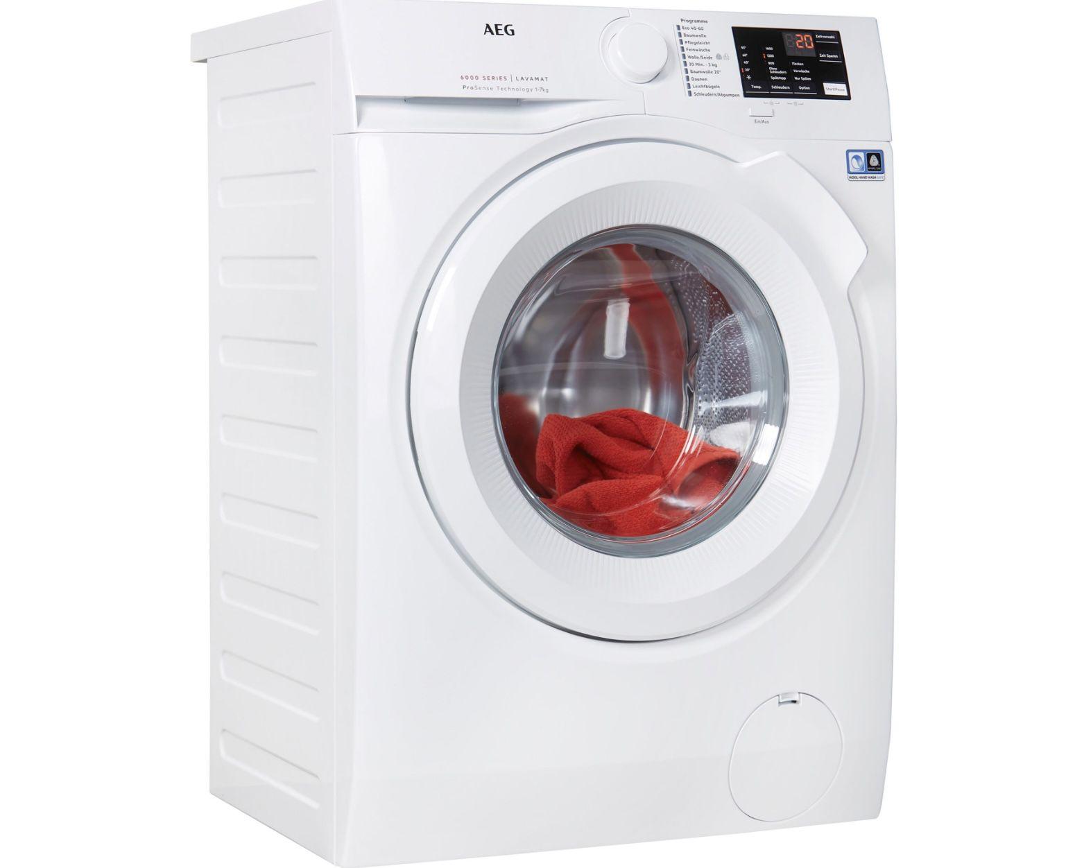 Pricedrop: AEG L6FBA5670 7kg-Waschmaschine mit 1600 U/min und EEK D für 399€ (statt 473€)