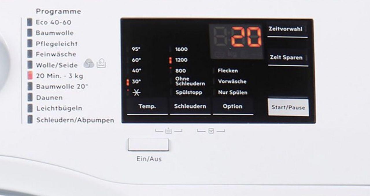 AEG L6FBA5670 7kg Waschmaschine mit 1600 U/min und EEK D für 399€ (statt 473€)