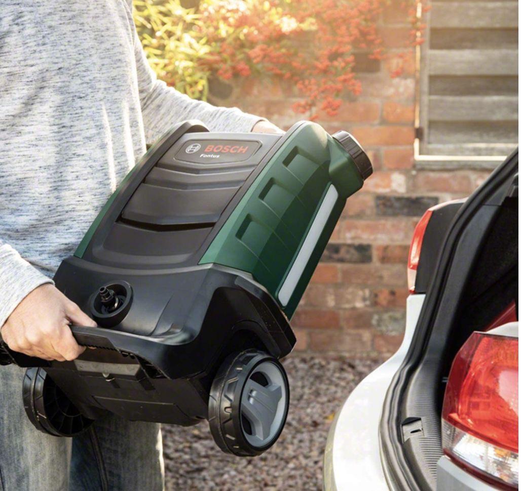 Bosch Akku Outdoor Reiniger Fontus inkl. Akku für 224,95€ (statt 265€)