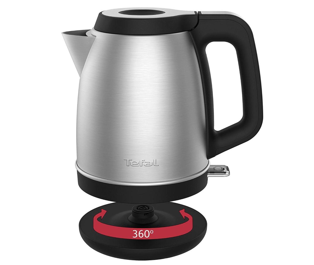 Tefal Element KI280D Premium Wasserkocher aus Edelstahl für 25,20€ (statt 30€) – Prime