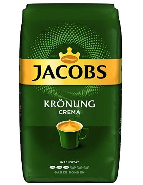 Amazon: 20% Rabatt auf Jacobs Kaffee beim Kauf von 5 Produkten   z.B. 5x 1kg Jacobs Kaffeebohnen Krönung Crema für 34,96€