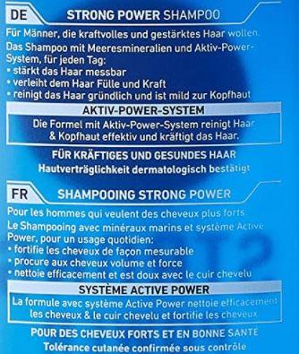 5x NIVEA MEN Strong Power Shampoo (je 250 ml) für 6,82€ (statt 10€)   Prime Sparabo