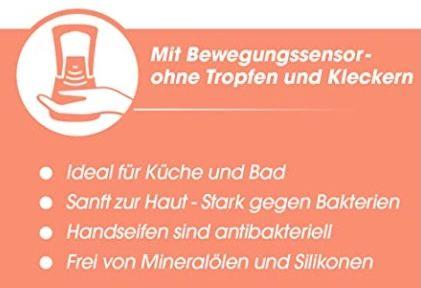 5x Sagrotan No Touch Seifenspender inkl. Nachfüller Lotusblüte & Kamillenöl für 22,57€ (statt 32€)