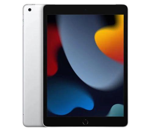 Apple iPad (2021) 64GB WiFi + 4G in Silber für 379€(statt 499€)