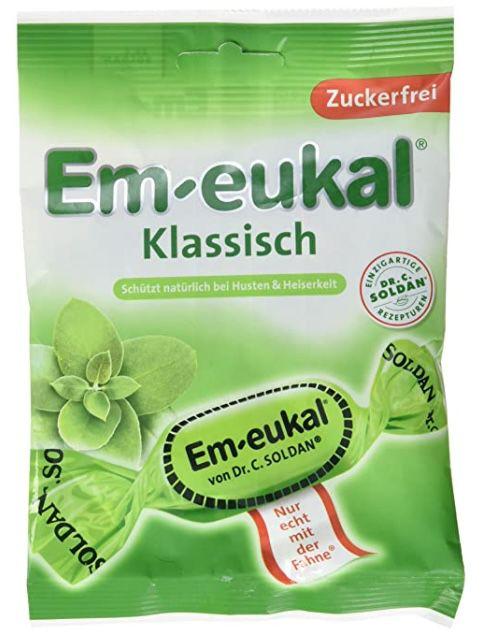 Em eukal Klassisch zuckerfrei für 0,94€   Prime